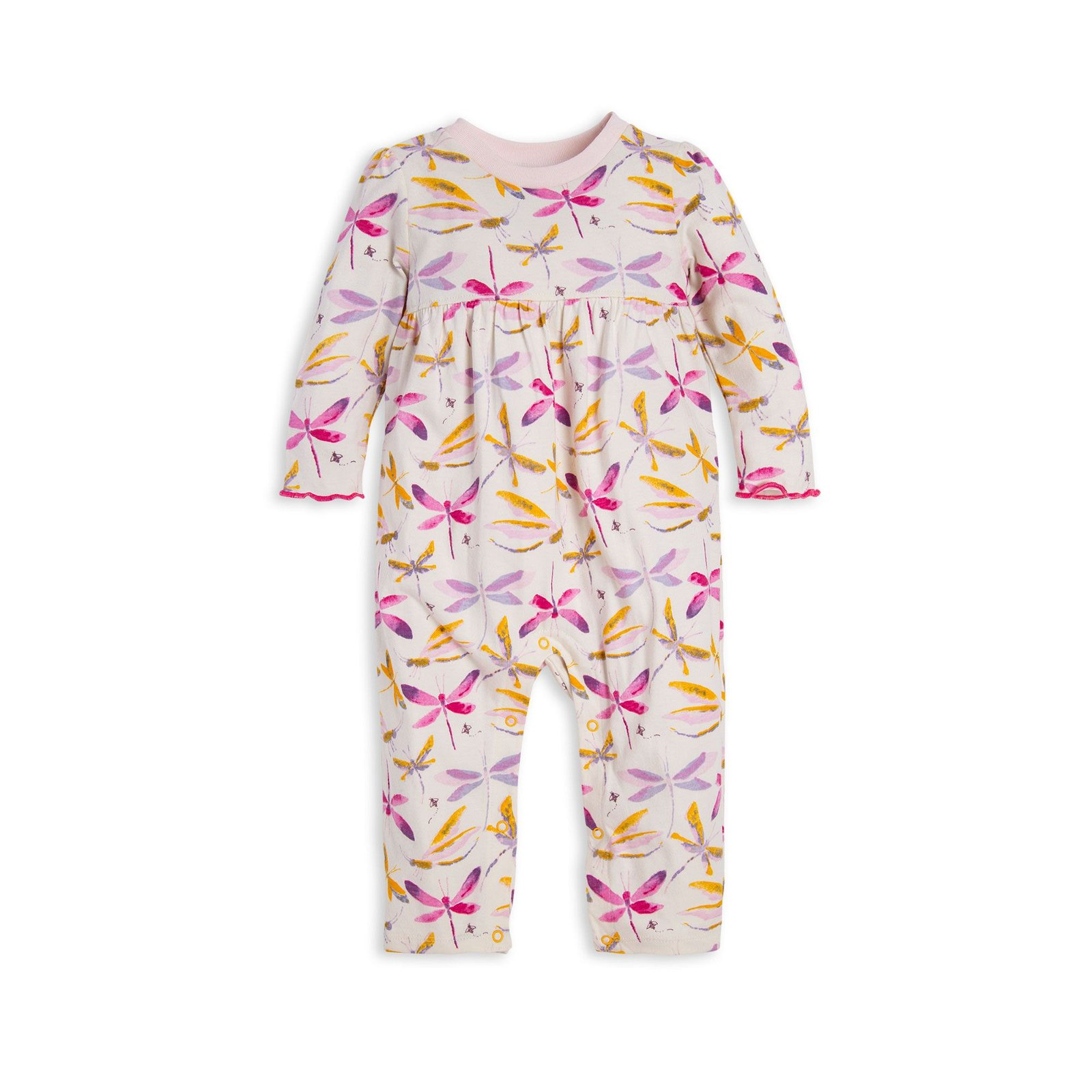 Autumn Sky Dragonfly Organic Baby Jumpsuit