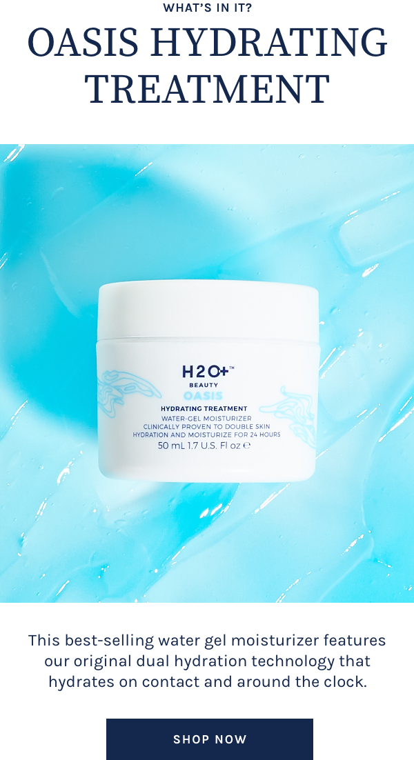 What's in it? Oasis Hydrating Treatment