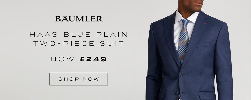 Austin Reed Baumler Suits Now From 199 Premium Wool Three Piece Suits Milled