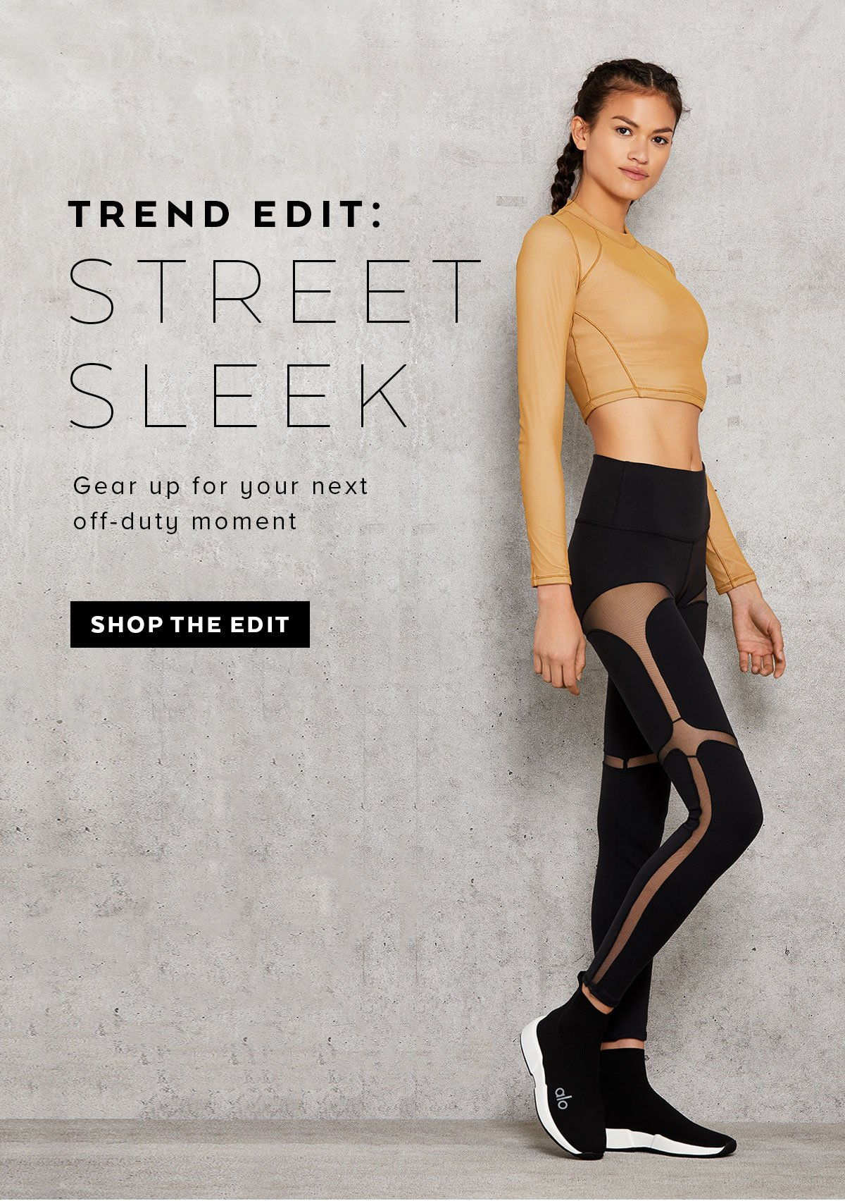 TREND EDIT: STREET SLEEK - SHOP NOW