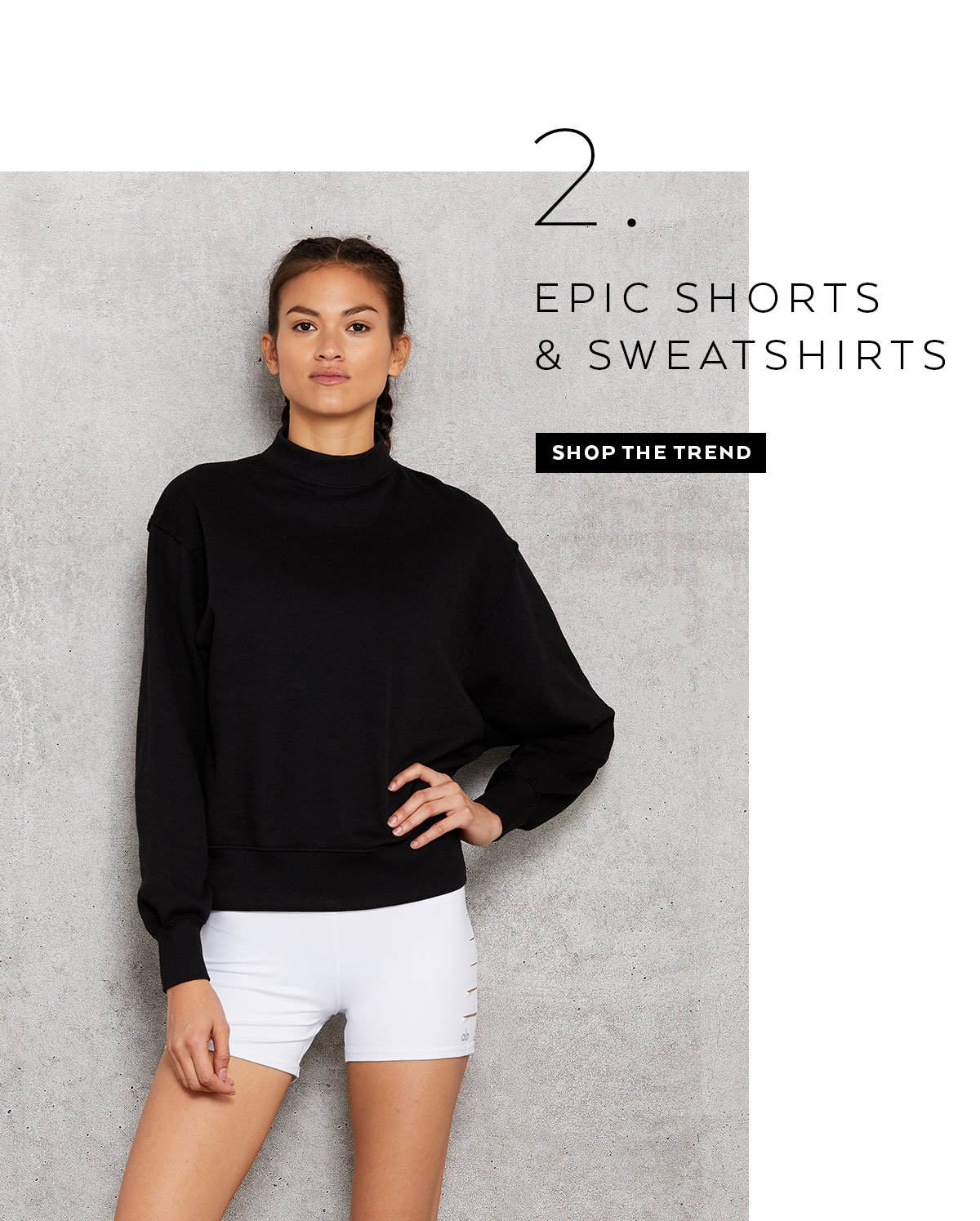 EPIC SHORTS & SWEATSHIRTS - SHOP NOW