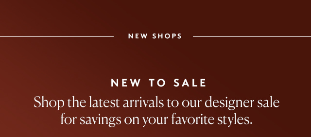 Treat yourself, and scoop up any deals you've been eyeing on our site.