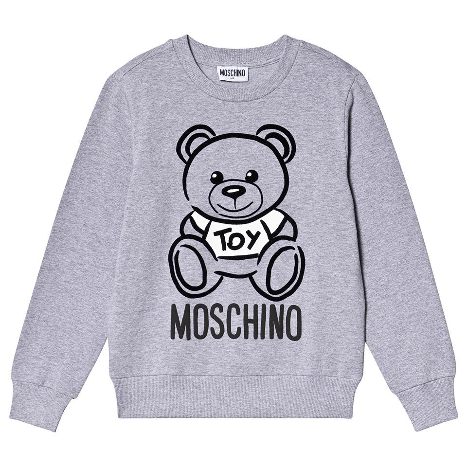 Moschino Grey Bear Sweatshirt