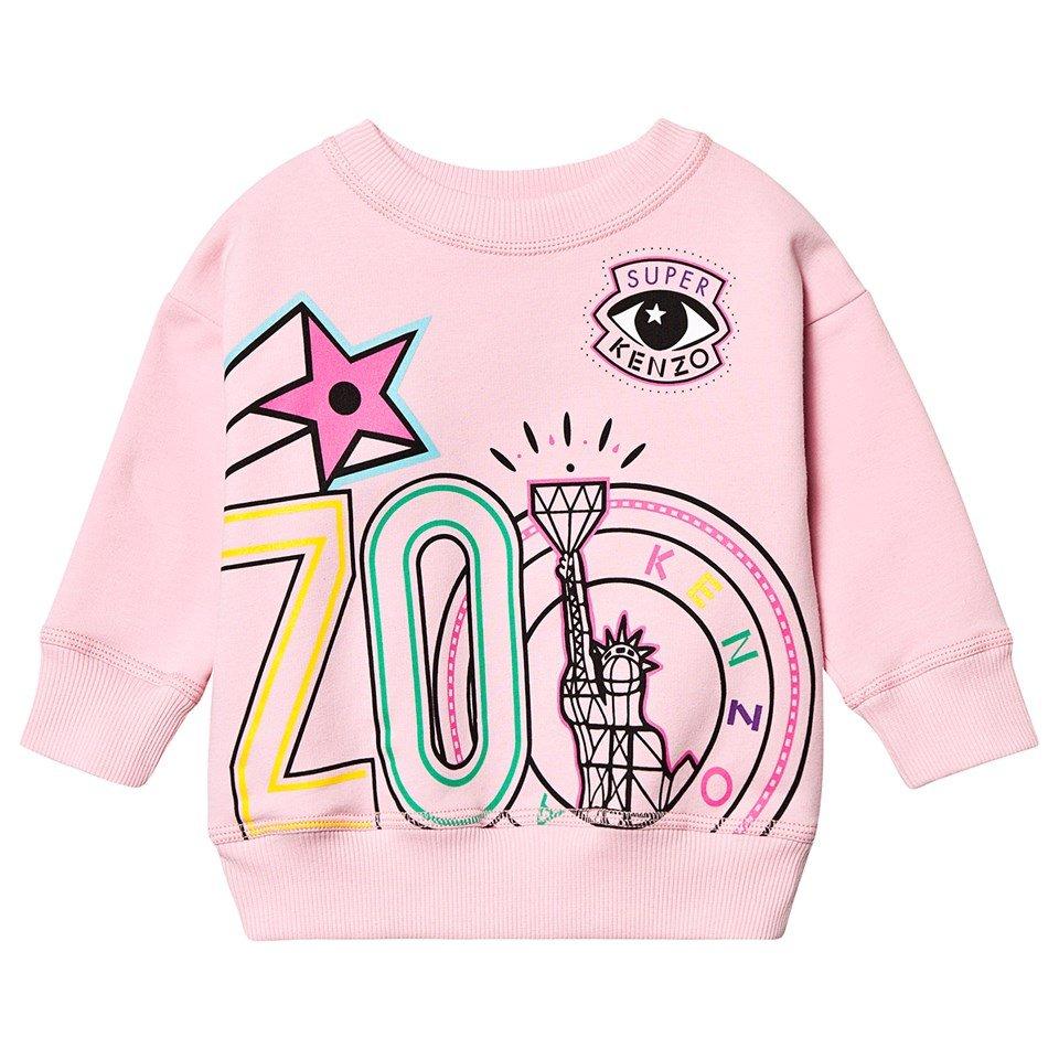Kenzo Kids Pink Kenzo Eye Star Sweatshirt