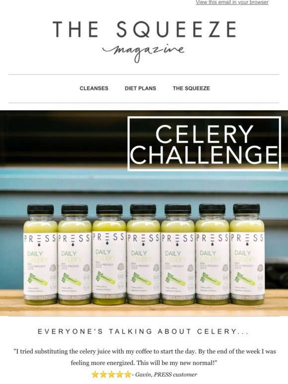 Press London: What's the hype around Celery Juice? 🌱 | Milled