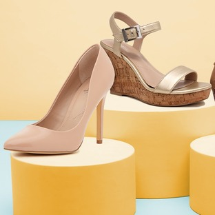 Booties, Pumps & More Up to 60% Off