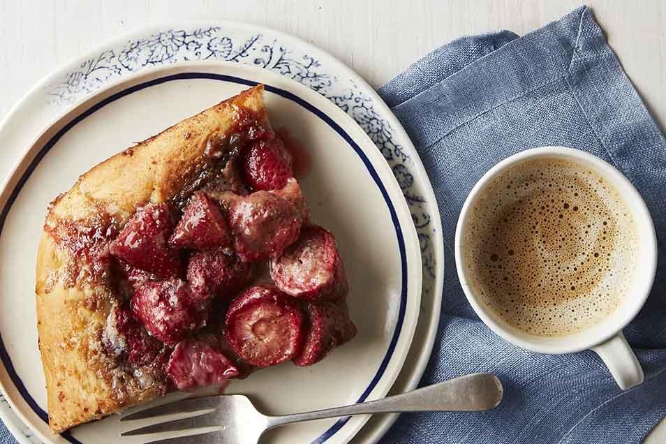 Moravian Fruit Coffeecake