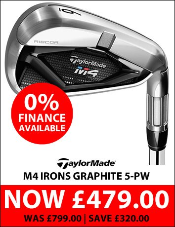 TaylorMade M4 Irons Graphite