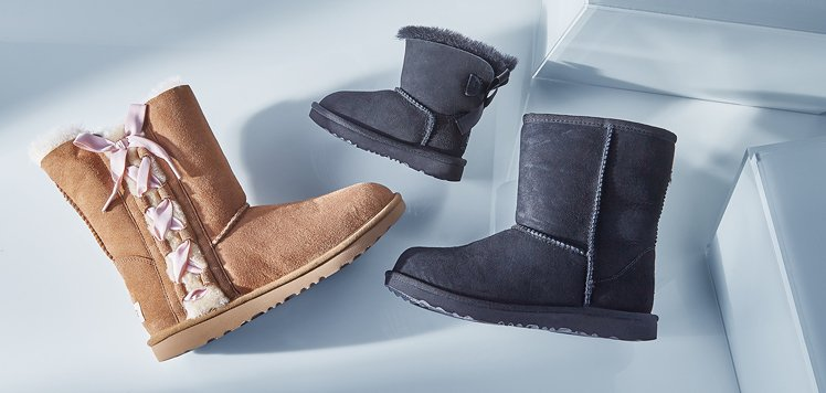 UGG & More Cozy Kids' Shoes