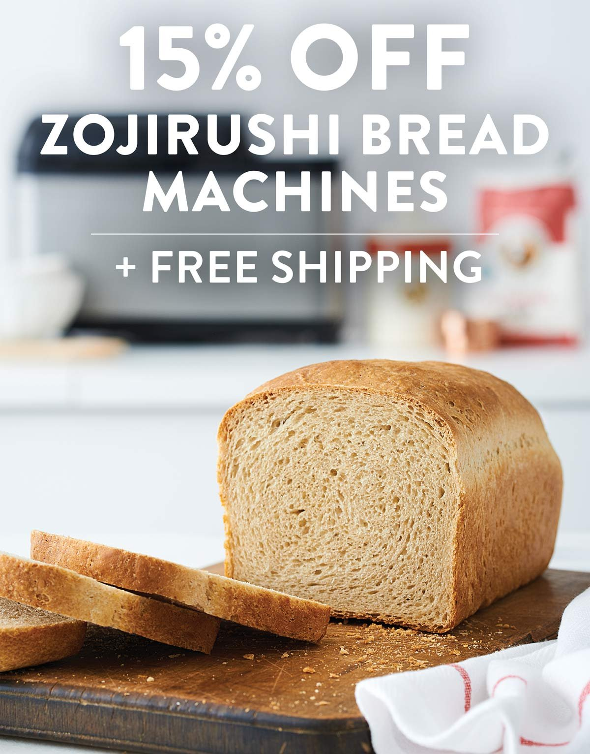 15 Percent off and Free Shipping on Zojirushi