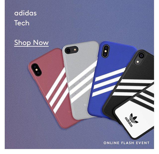 Adidas | Tech | Shop Now | Online Flash Event