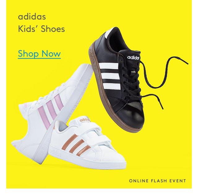 Adidas | Kids' Shoes | Shop Now | Online Flash Event