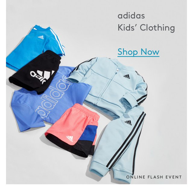 Adidas | Kids' Clothing | Shop Now | Online Flash Event