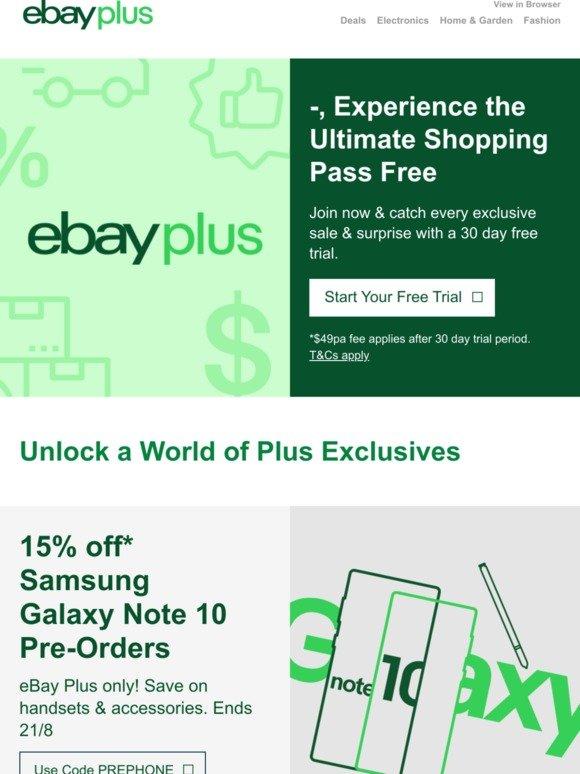eBay AU: -Live the Plus Life Free😁   Milled