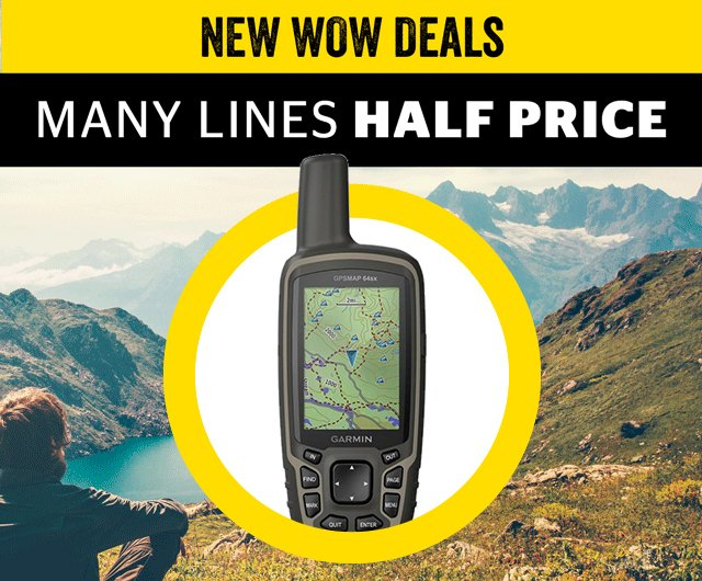 New WOW Deals - many lines half price