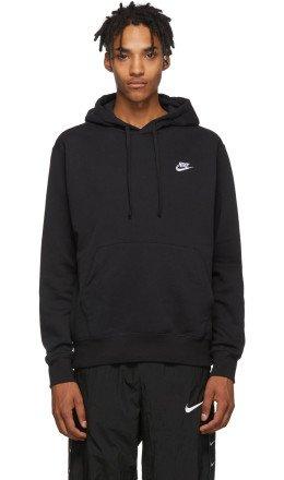 Nike - Black Fleece Sportswear Club Hoodie