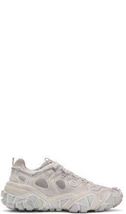 Acne Studios - White Bolzter W Tumbled Sneakers