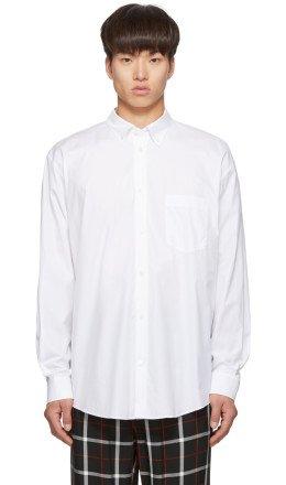 Balenciaga - White Normal Fit Shirt