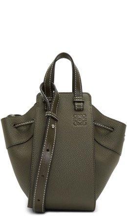 Loewe - Green Mini Hammock Drawstring Bag