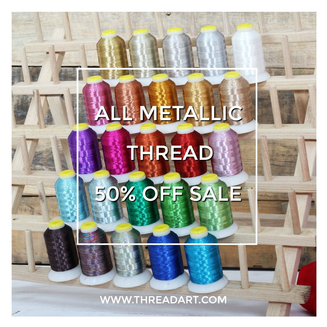 Metallic Thread Image