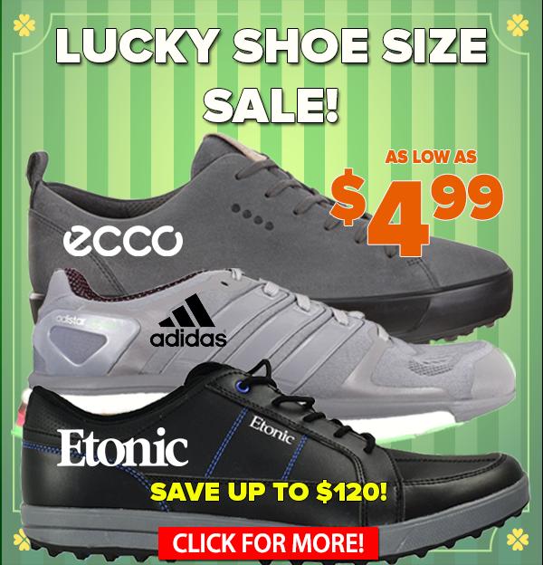 Lucky Size Shoe Sale! Footwear