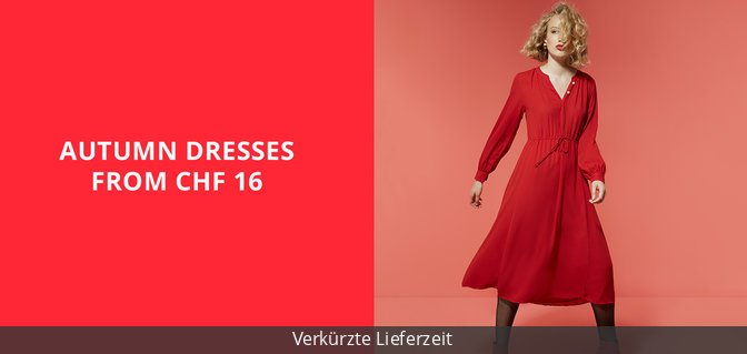 Autumn Dresses from CHF 16