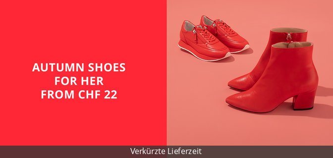Autumn Shoes for Her from CHF 22
