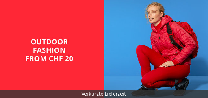 Outdoor Fashion from CHF 20