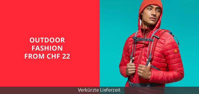 Outdoor Fashion from CHF 22