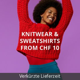 Knitwear & Sweatshirts from CHF 10