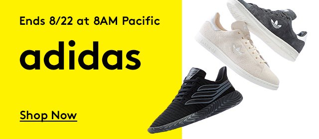 Ends 8/22 at 8AM Pacific | adidas | Shop Now