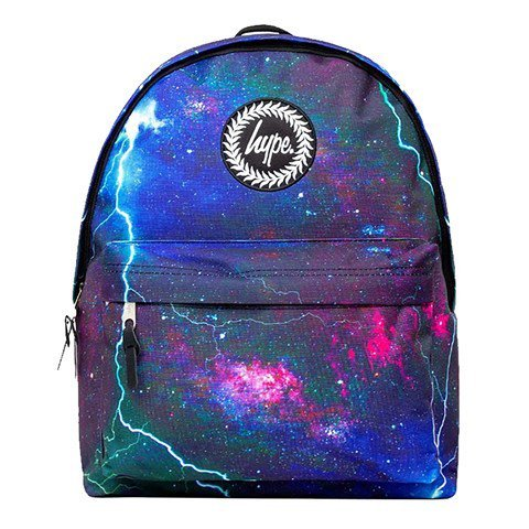 Hype Blue And Pink Space Storm Backpack