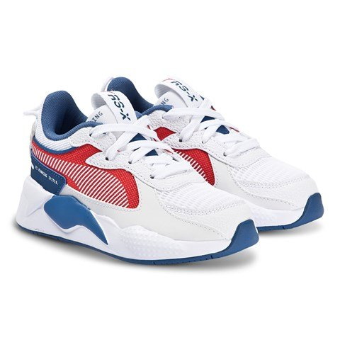 Puma White, Red & Blue RS-X Hard Drive Trainers