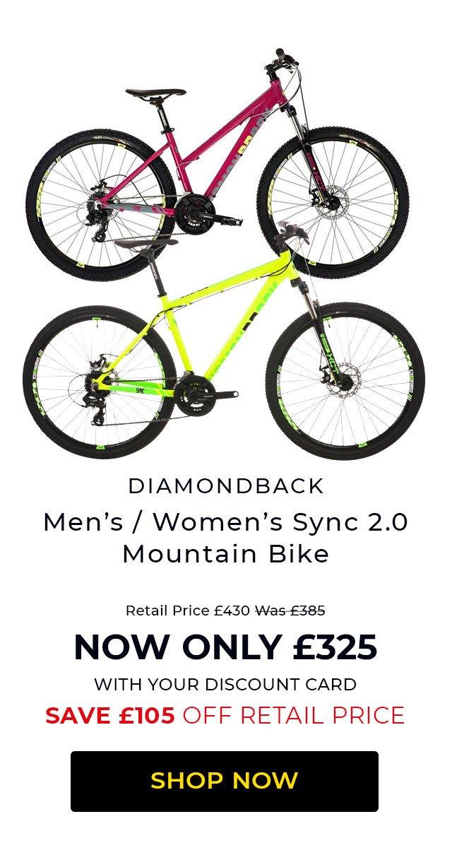 Diamondback Sync 2.0 Mountain Bike