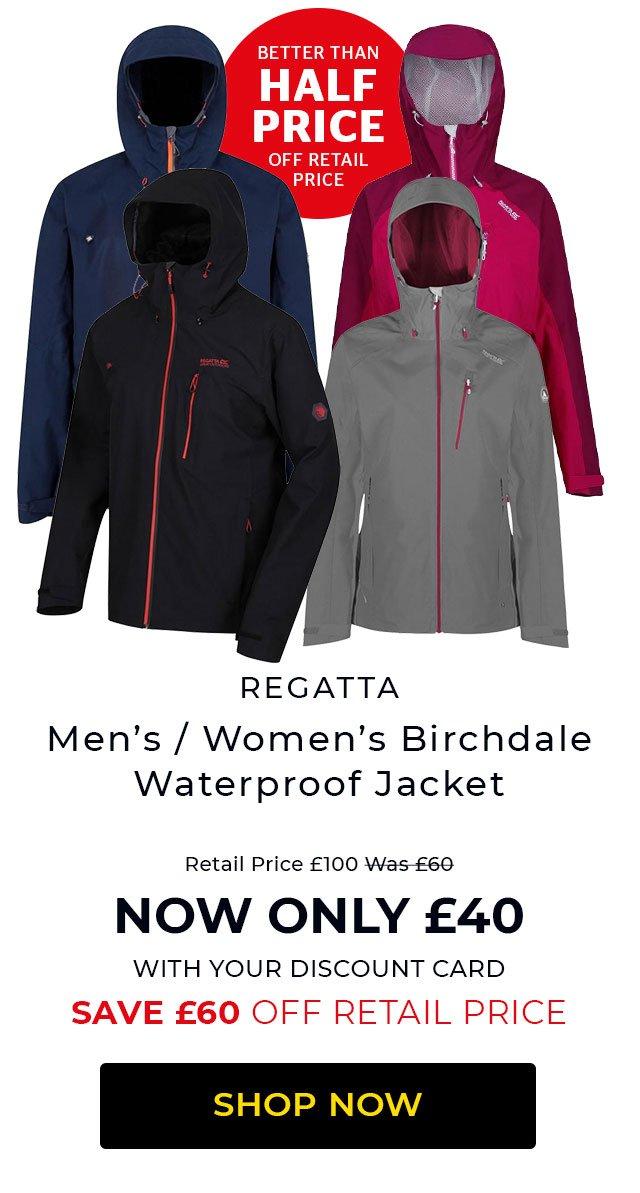 Regatta Birchdale Waterproof Jacket