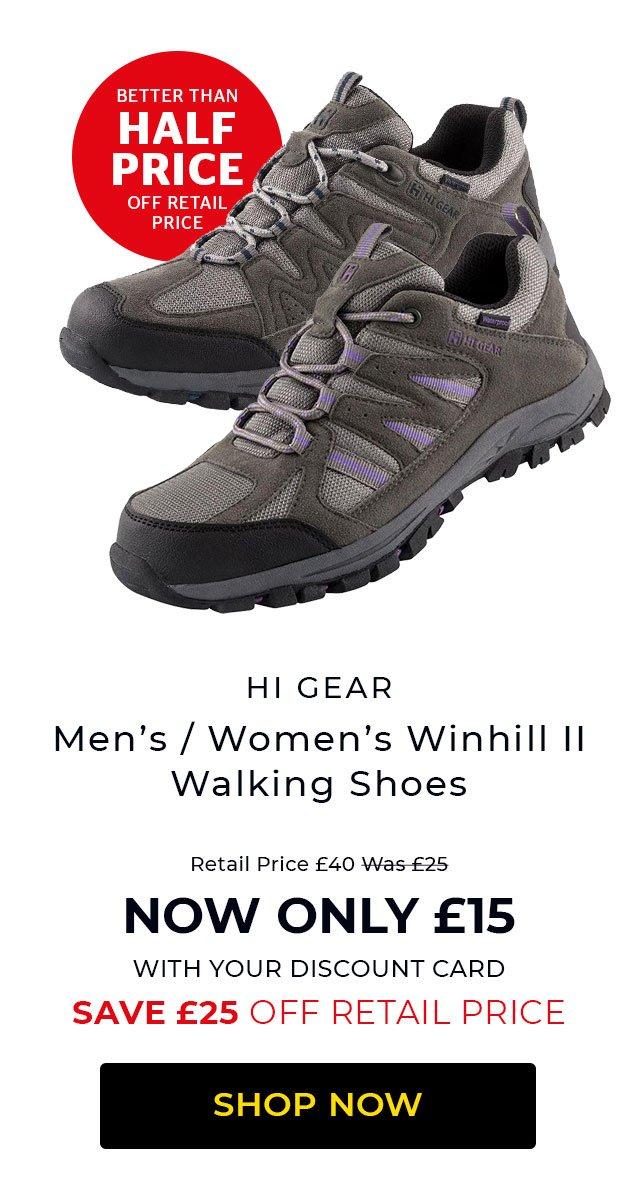Hi Gear Winhill II Walking Shoes