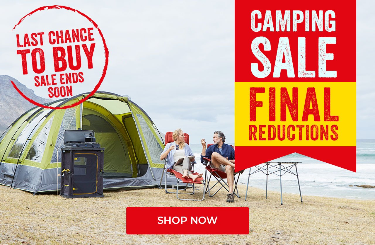 Last Chance - Camping Sale - Further Reductions