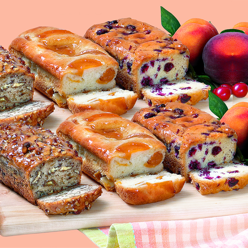 Buy One Fruit Bread Trio, Get another for FREE<br>