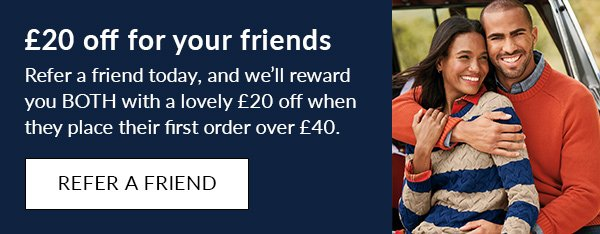 £20 off for you and your friends