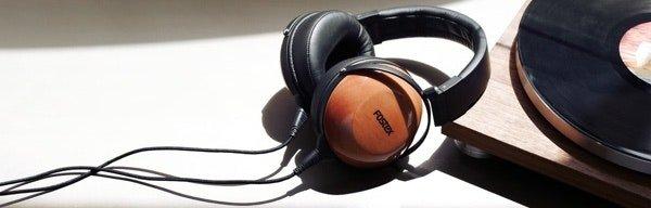 Massdrop: Massdrop x Fostex TR-X00 Mahogany Headphones: Wood
