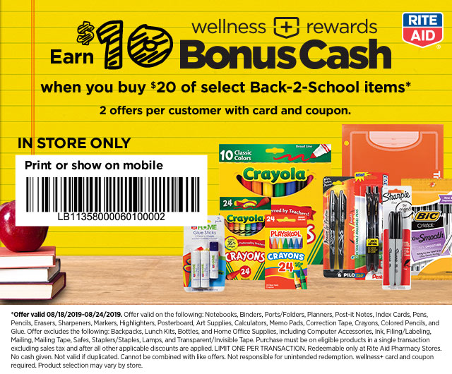 Rite Aid: $909 in Load2Card Savings! Don't Miss This! Plus