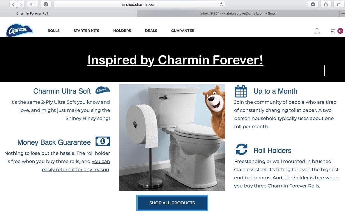 ToothSoap com: Charmin Toilet Paper Inspiration For Tooth