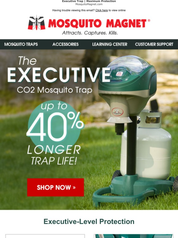MosquitoMagnet: Show mosquitoes who's boss!   Milled