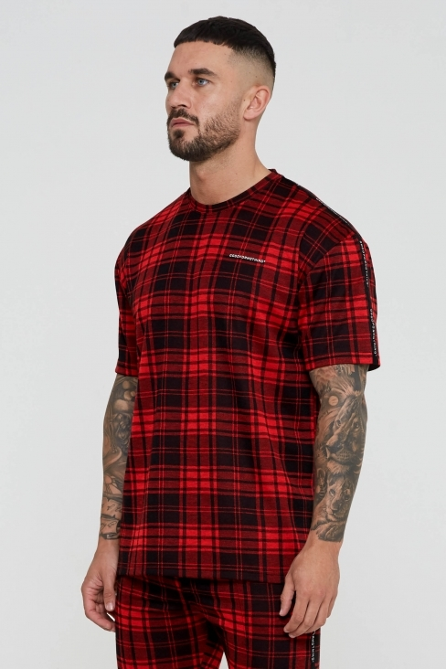 Titus Oversized Check T-shirt