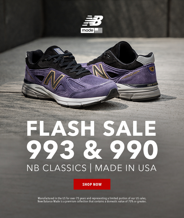 quality design 3ccad 785ef Joe's New Balance Outlet: ⚡️ FLASH SALE: NB Classics 990 ...
