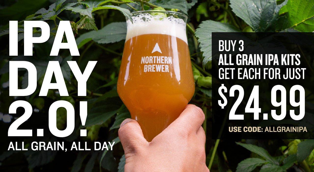 IPA Day All Grain Beer Recipe Kit Sale
