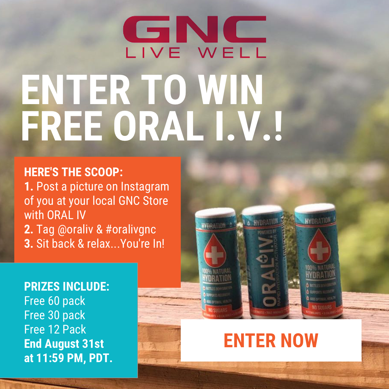 Oral IV: Head to GNC & Enter Our Sweepstakes! | Milled