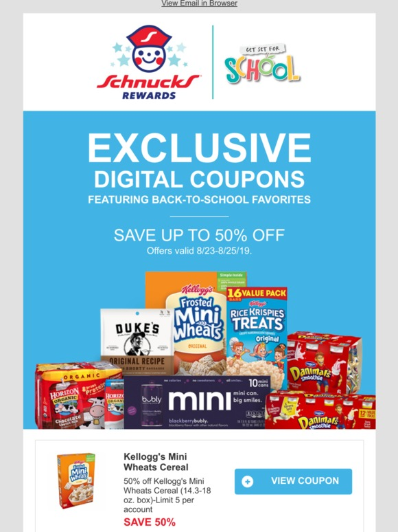 Schnuck Markets, Inc : 📣 10 Back-to-School Deals FOR YOU