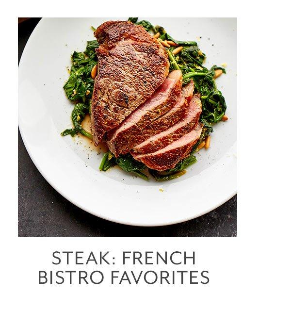 Class: Steak • French Bistro Favorites