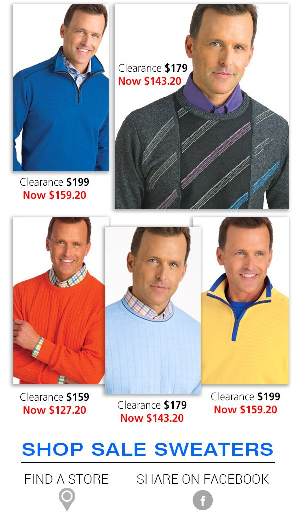 Shop Clearance Sweaters